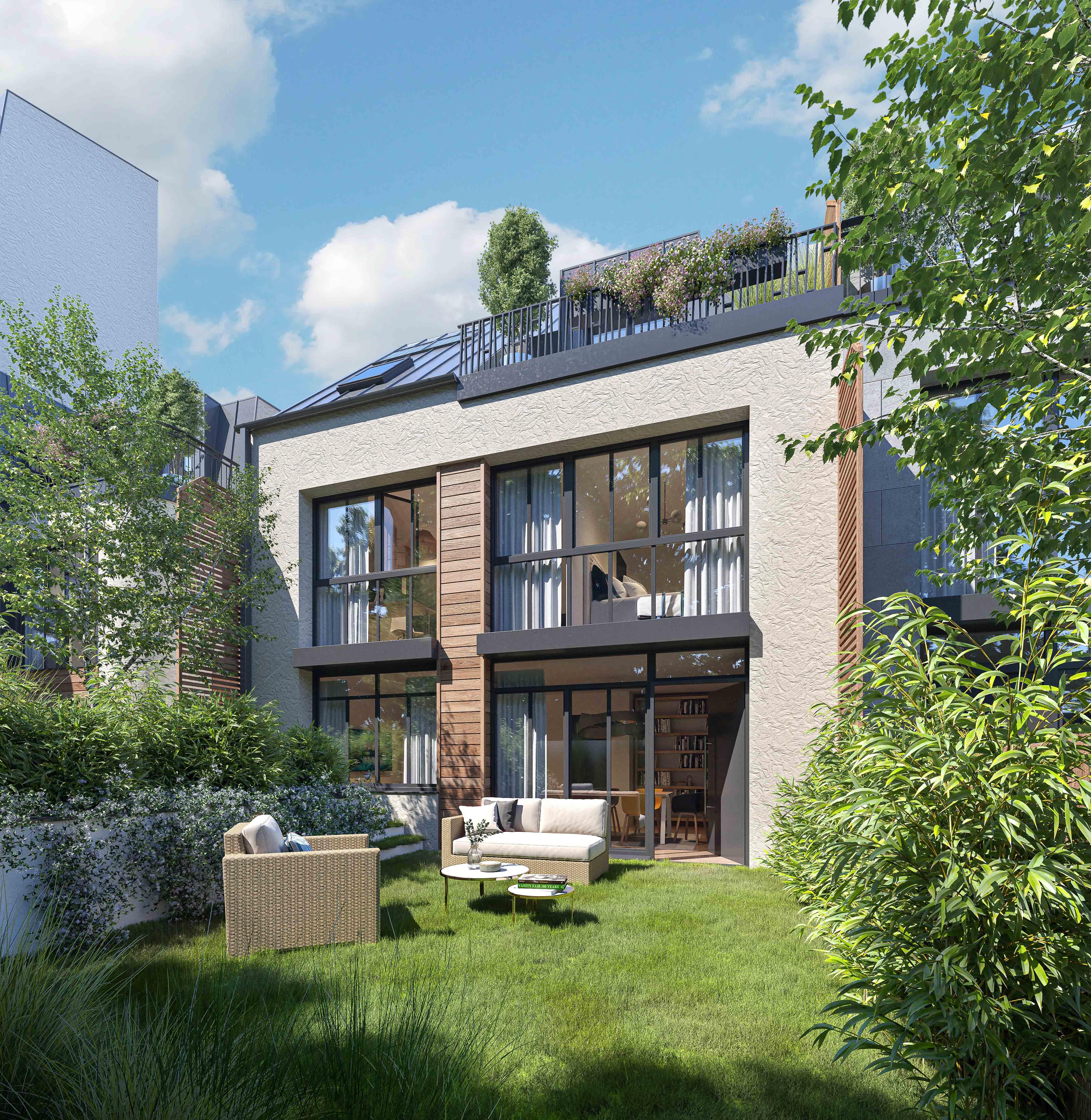 Casa Asnières-sur-Seine  -  ref B-51758 (picture 3)