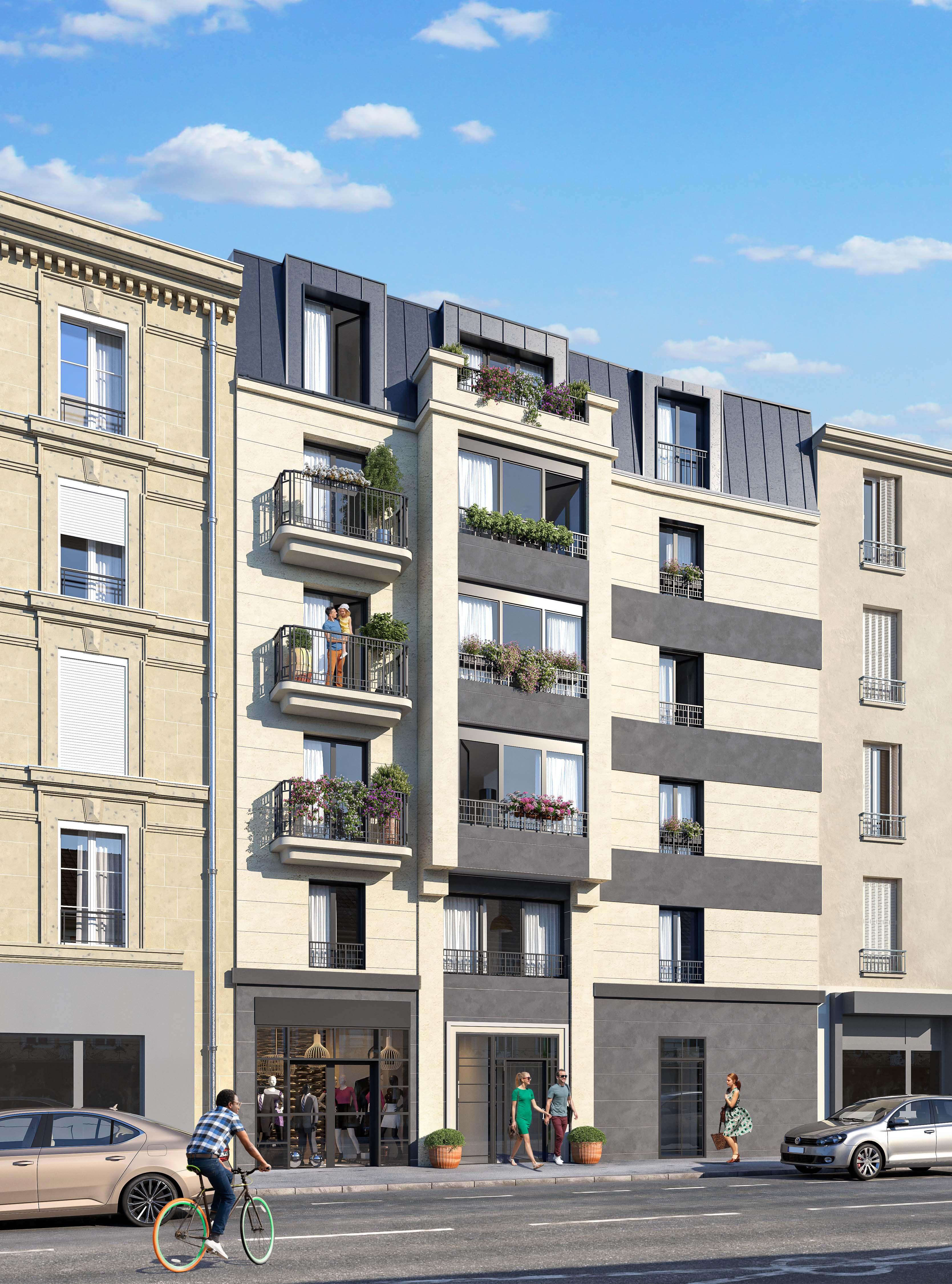 Casa Asnières-sur-Seine  -  ref B-51758 (picture 1)
