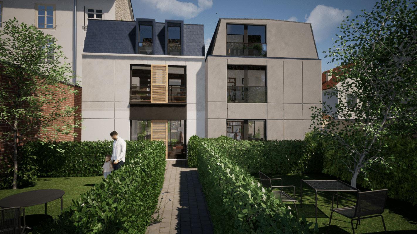 Bois-Colombes  - Maison 5 Pièces 4 Chambres - picture 9