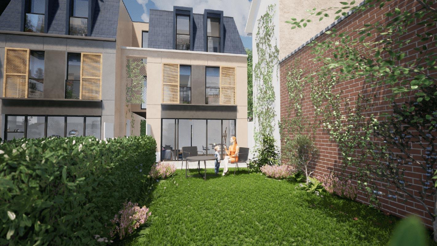 Bois-Colombes  - Maison 5 Pièces 4 Chambres - picture 5