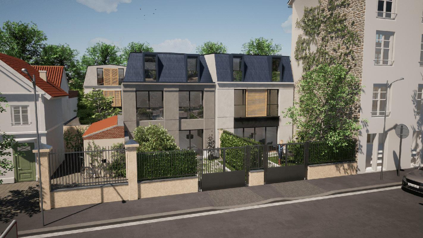 Bois-Colombes  - Maison 5 Pièces 4 Chambres - picture 1