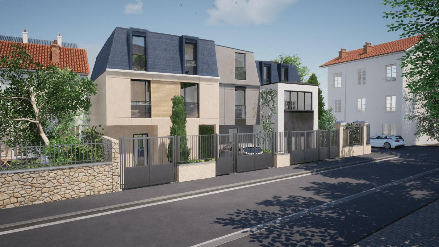 Bois-Colombes  - Maison 5 Pièces 4 Chambres - picture 3