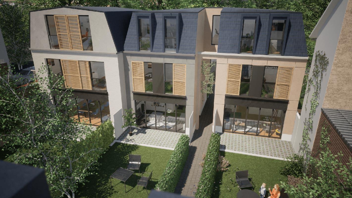 Bois-Colombes  - Maison 5 Pièces 4 Chambres - picture 2