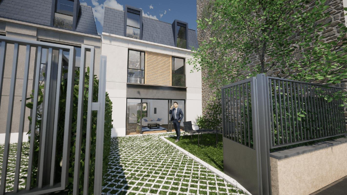 Bois-Colombes  - Maison 5 Pièces 4 Chambres - picture 8